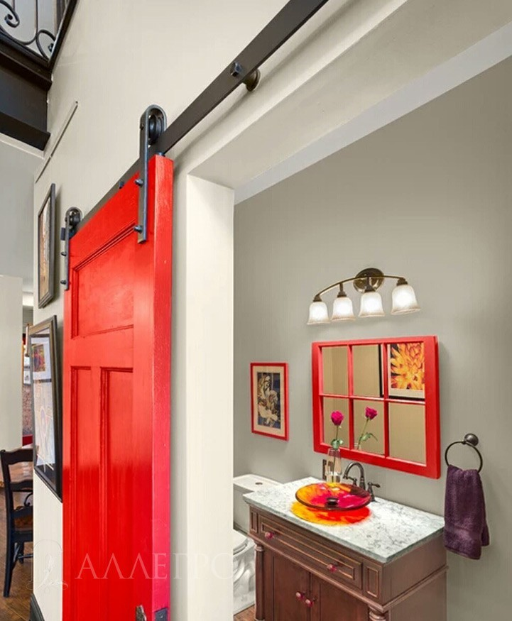Раздвижной механизм для дверей в стиле Loft
