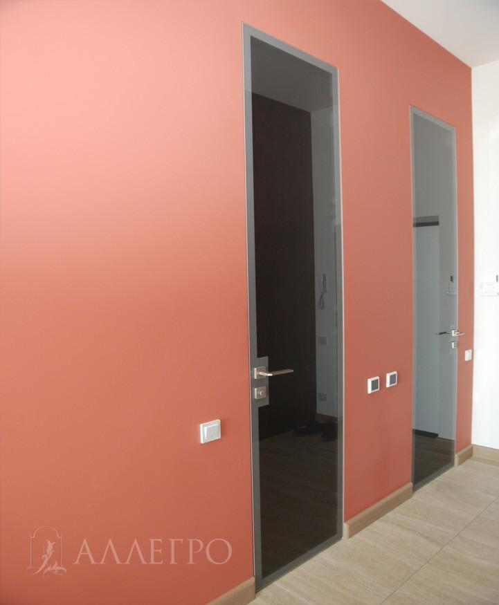 Фото двери с нестандартным размером. Может изготавливаться высотой до 3500 мм