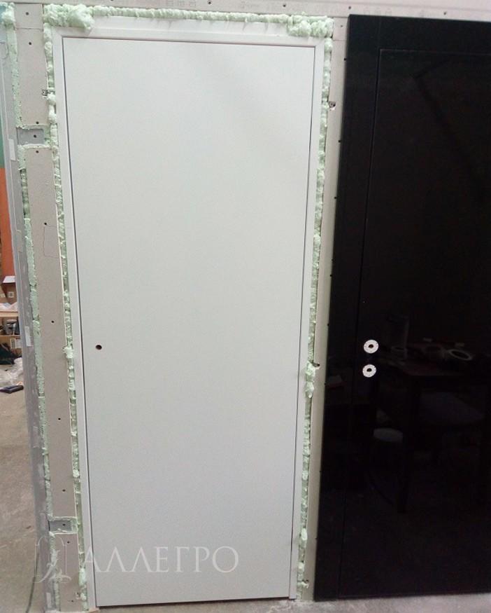 ШАГ1а Вот так выглядят двери сразу после установки - общий план