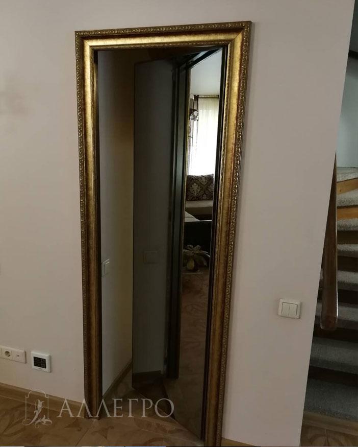 При креплении багета на стену, его состояние остается неподвижным при том, что дверь открыта. При креплении багета на стену, он имеет форму буквы П