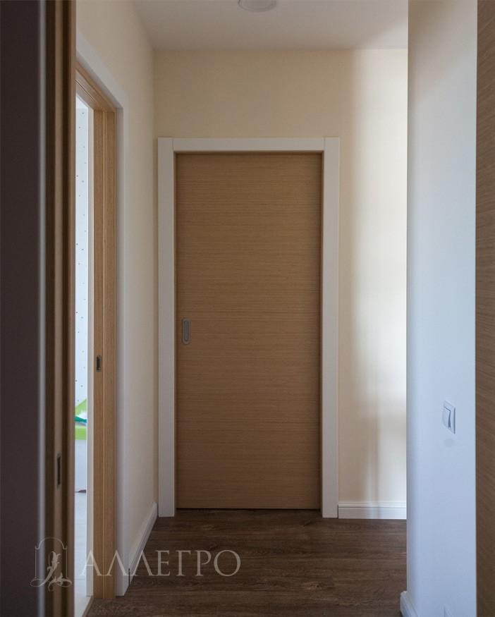 Дверь пенал. Вид из холла