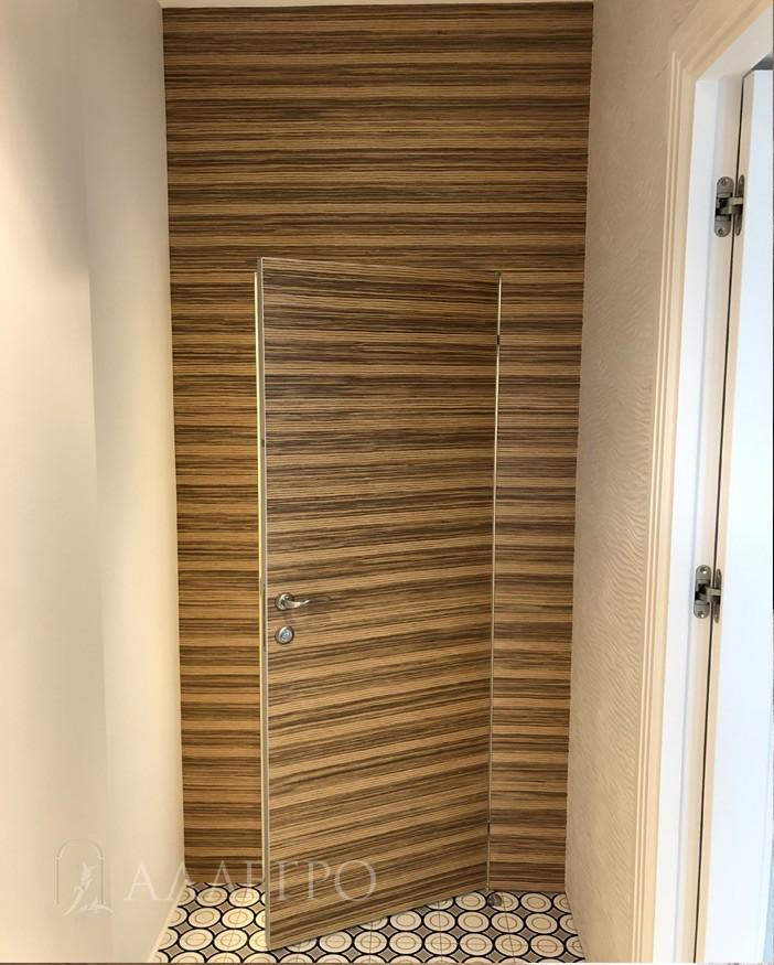 Вид отделки - стеновые шпонированные панели