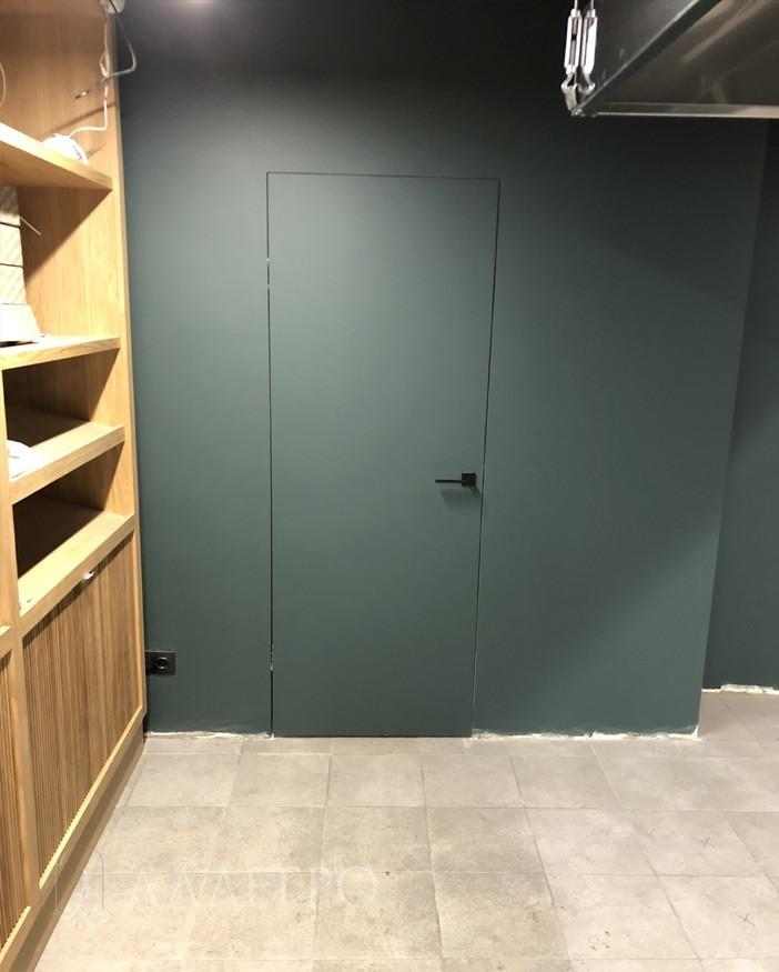 Двери под покраску крупным планом