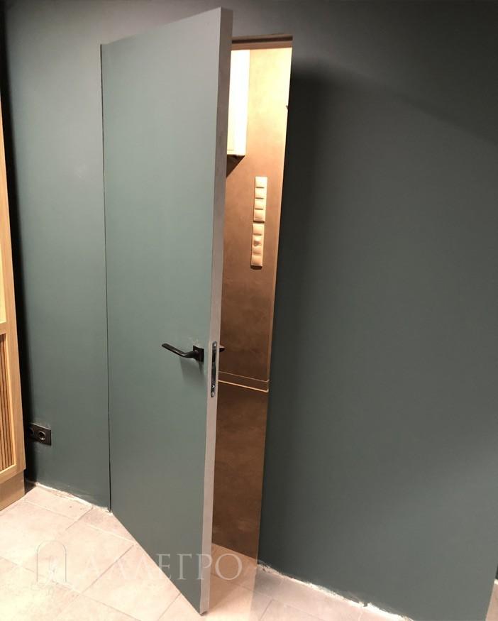 Открытые двери инвизибл под покраску