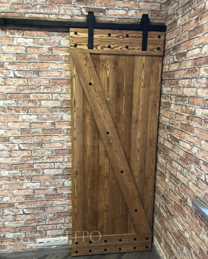Амбарные двери лофт. Модель 2
