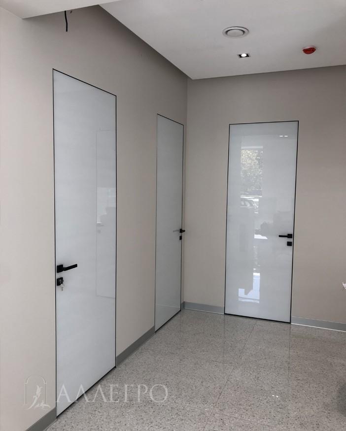 Все двери высокие и нестандартные. Высота 2490 мм