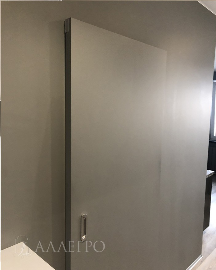 Дверь под покраску АЛЛЕГРО с развижным механизмом HIDDEN фото