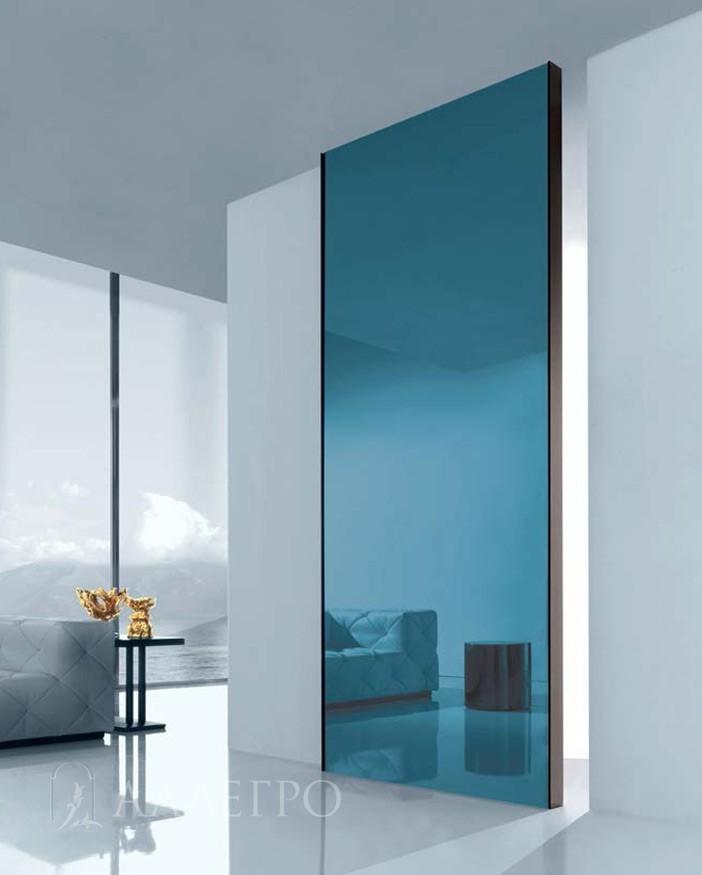 Раздвижные двери с зеркальным полотном
