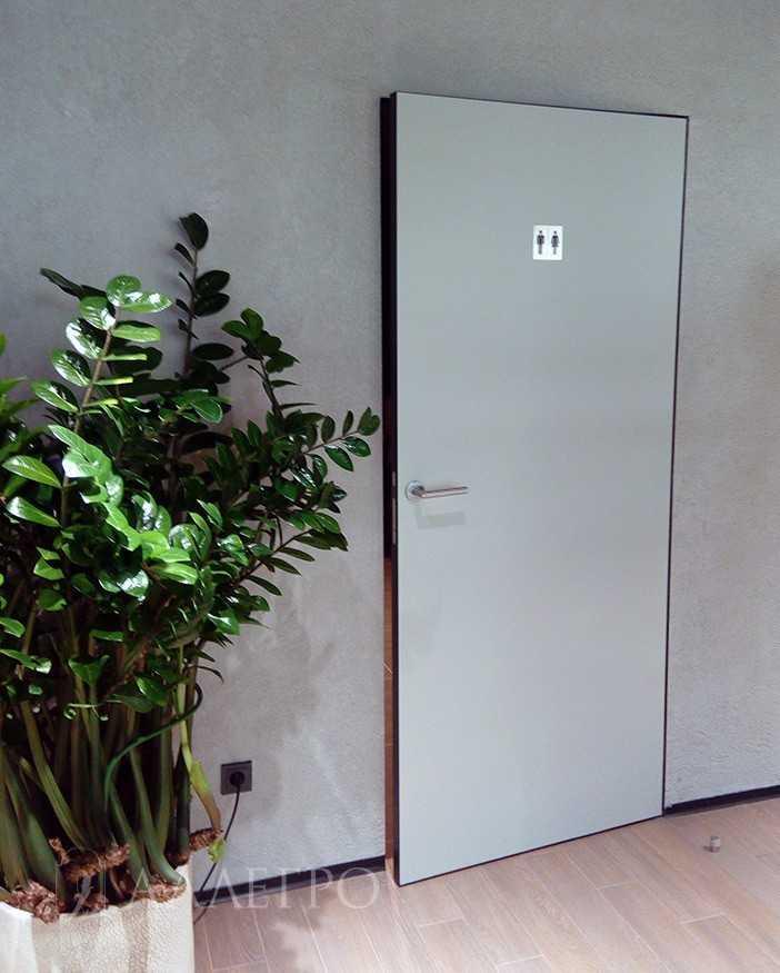Скрытые двери в коммерческом помещении