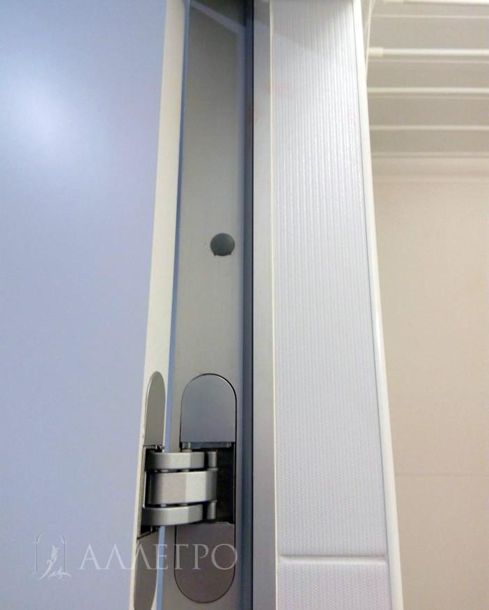 Подведение плитки к алюминиевой коробке с внутренней стороны
