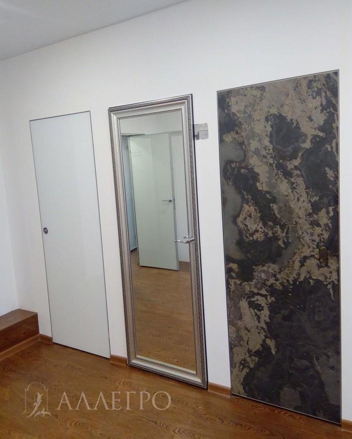 ФИНИШ1 Вот так выглядят двери у нас на выставке