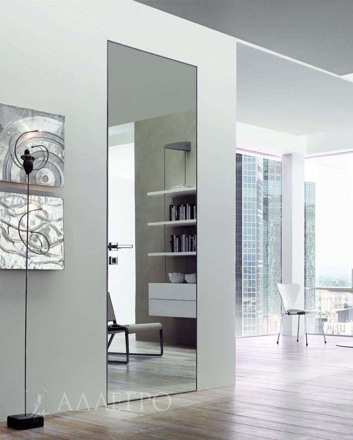 Зеркальные двери в гардеробную