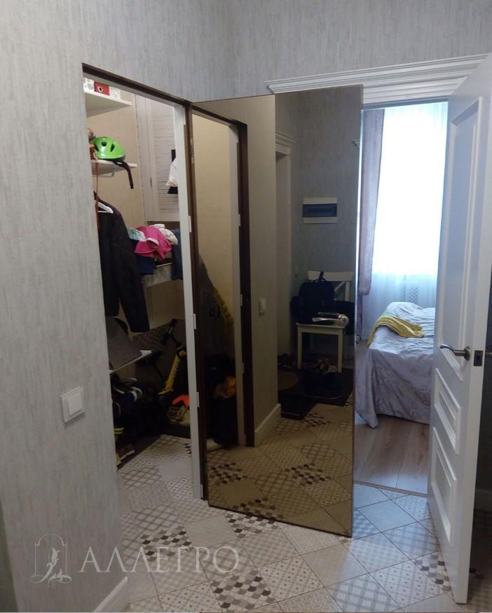 Профиль алюминиевой коробки для скрытой двери