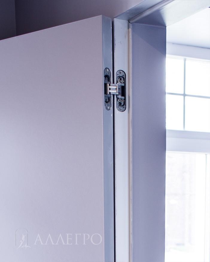 3. Увеличенное фото обратной стороны двери