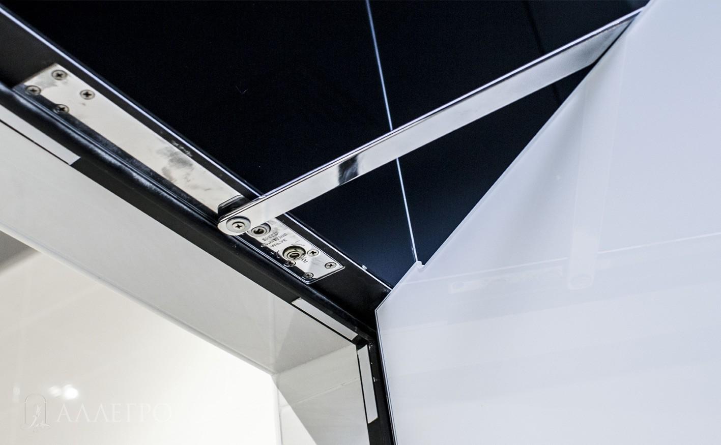 8. Скрытый доводчик. Особенностью этого доводчика является то, что при закрытой двери он является визуально невидимым ни с внешней стороны, ни с внутренней.
