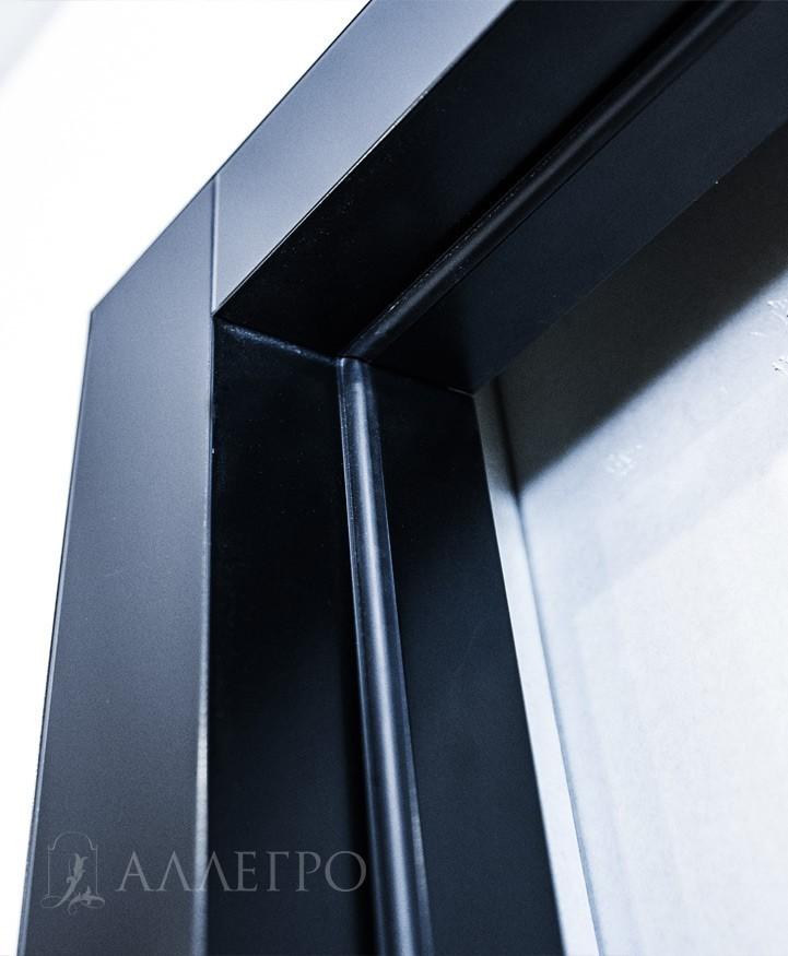 Дверная коробка с наличниками составляют единое целое - моноблок