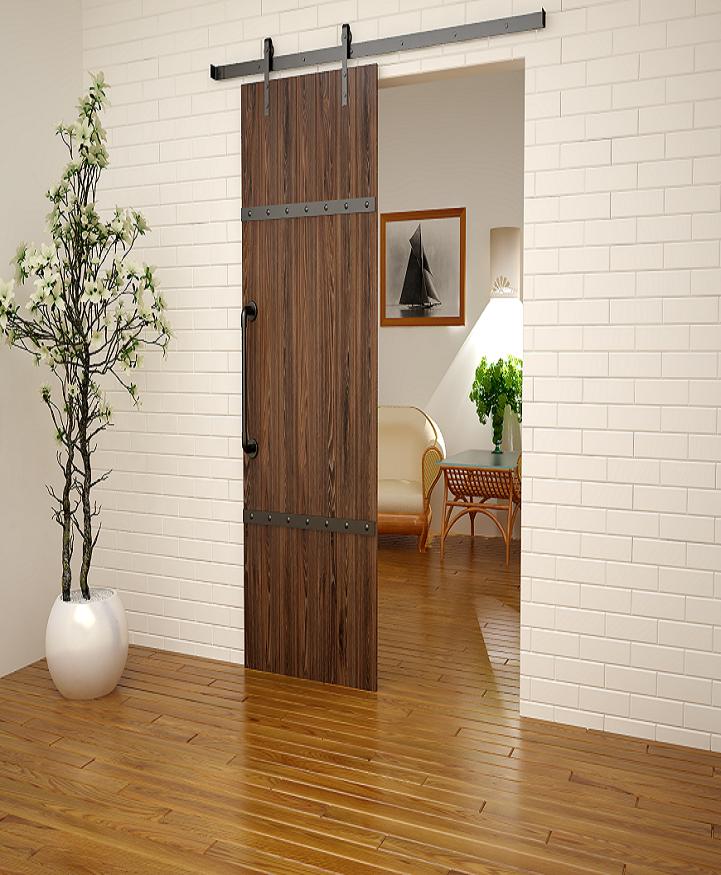 Амбарные двери в стиле лофт в интерьере 2