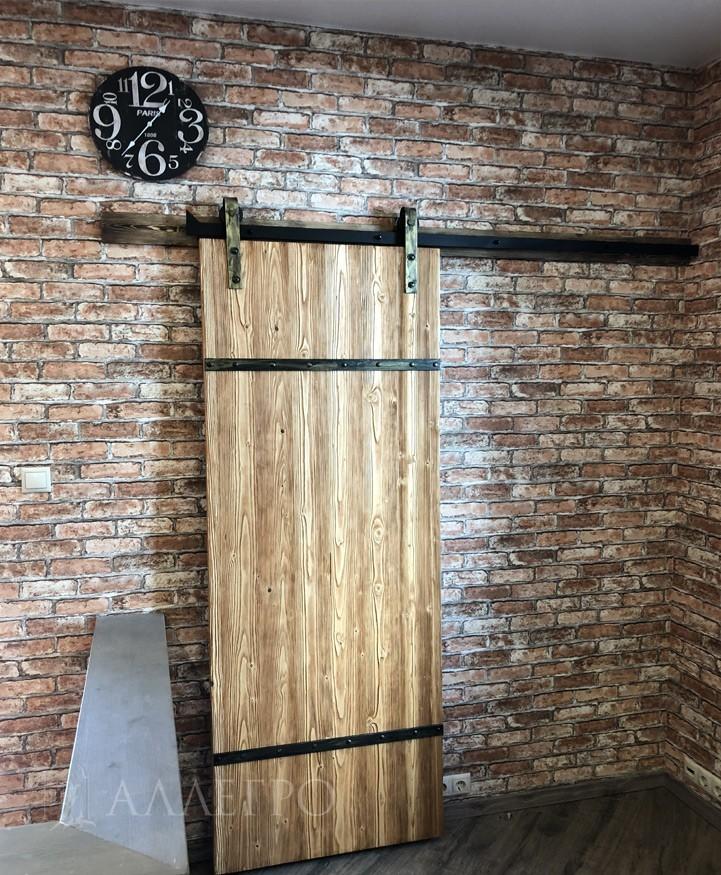 Двери Лофт в интерьере 3