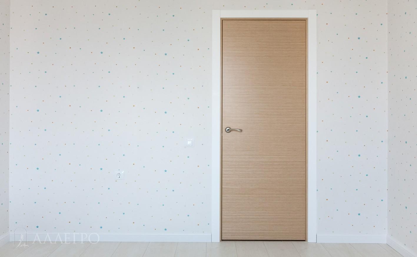 Дверь из натурального шпона. Общий вид 2