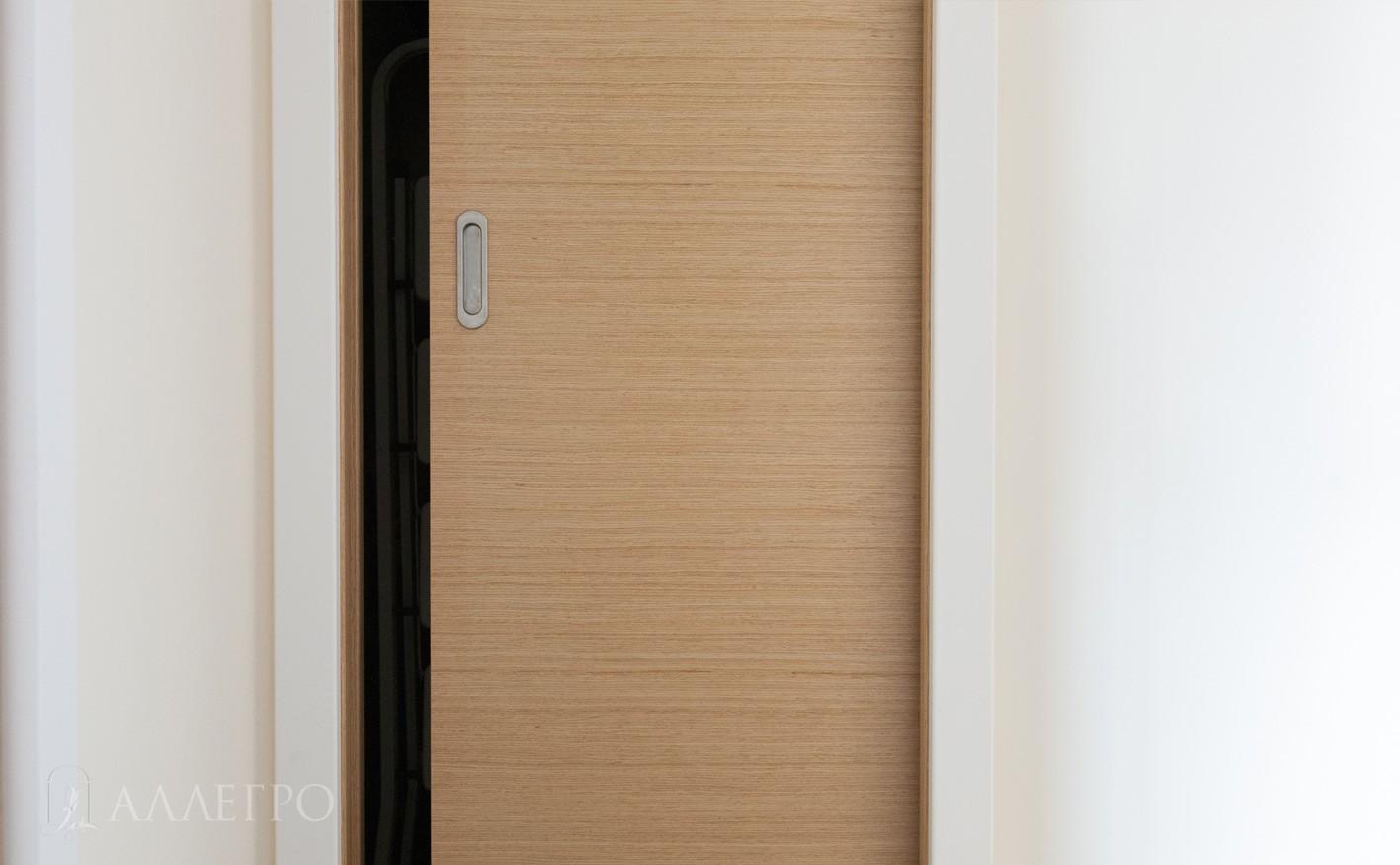 Межкомнатная дверь пенал крупным планом