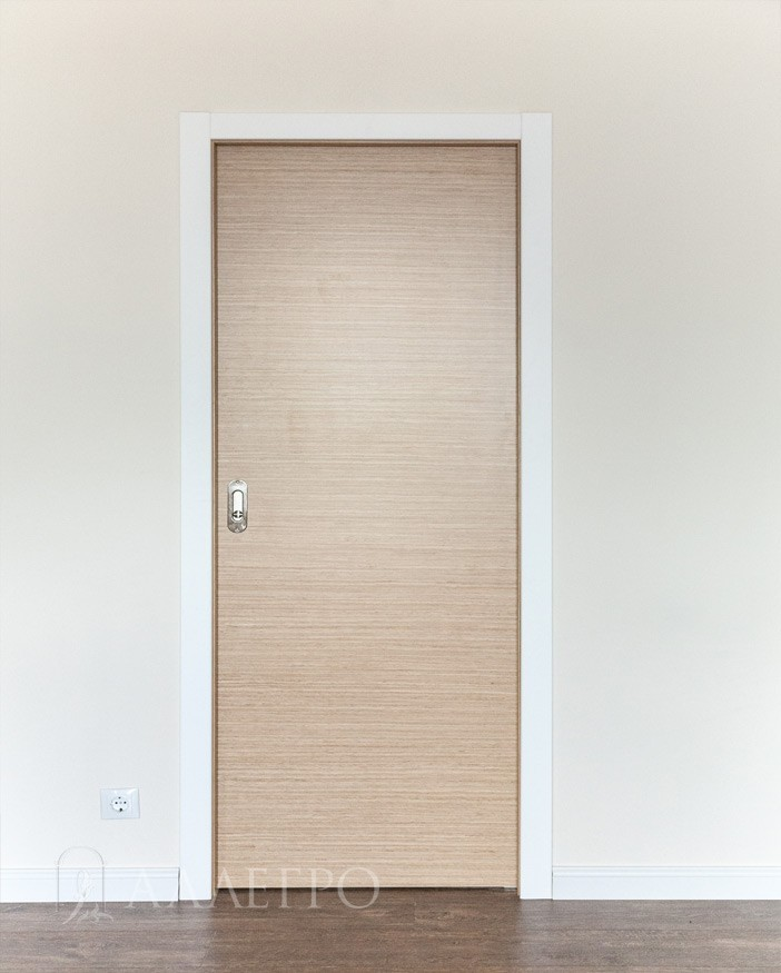 Закрытая раздвижная дверь пенал