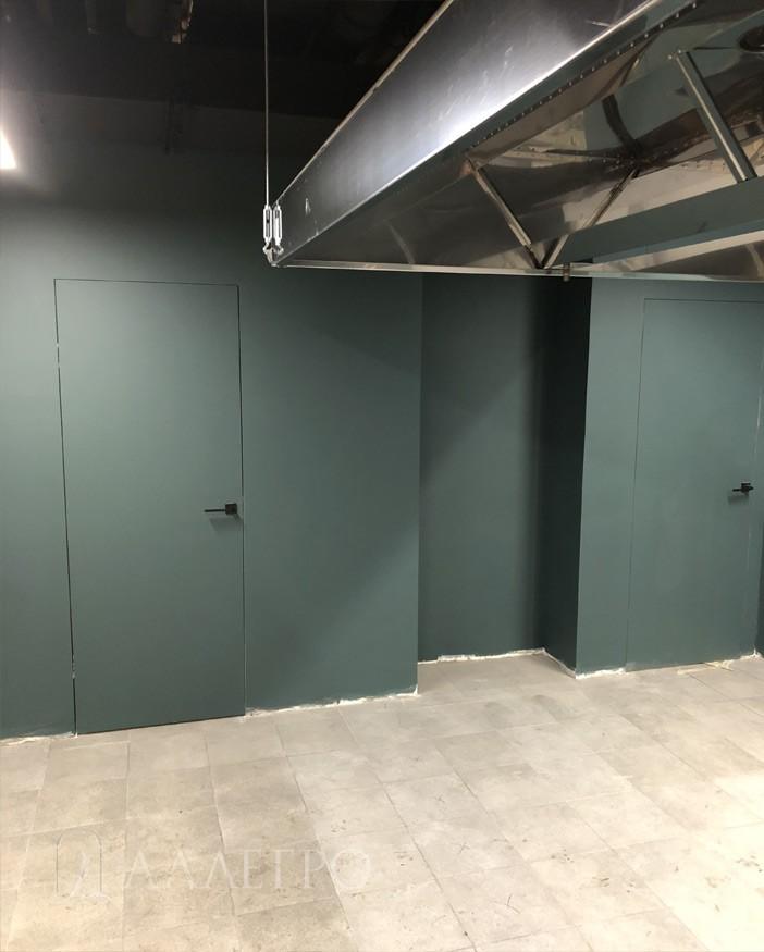 Двери под покраску. Финальный вид
