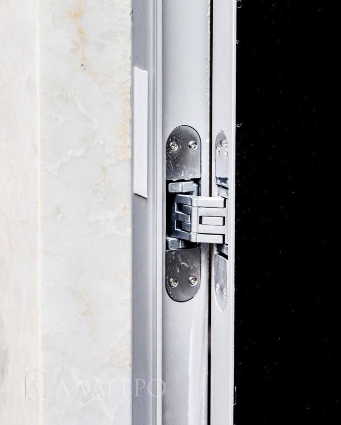 Скрытые петли для двери скрытой конструкции