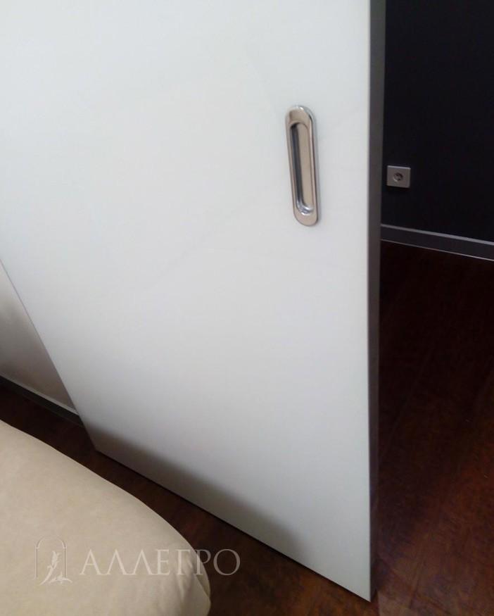 Ручка купе со стороны комнаты