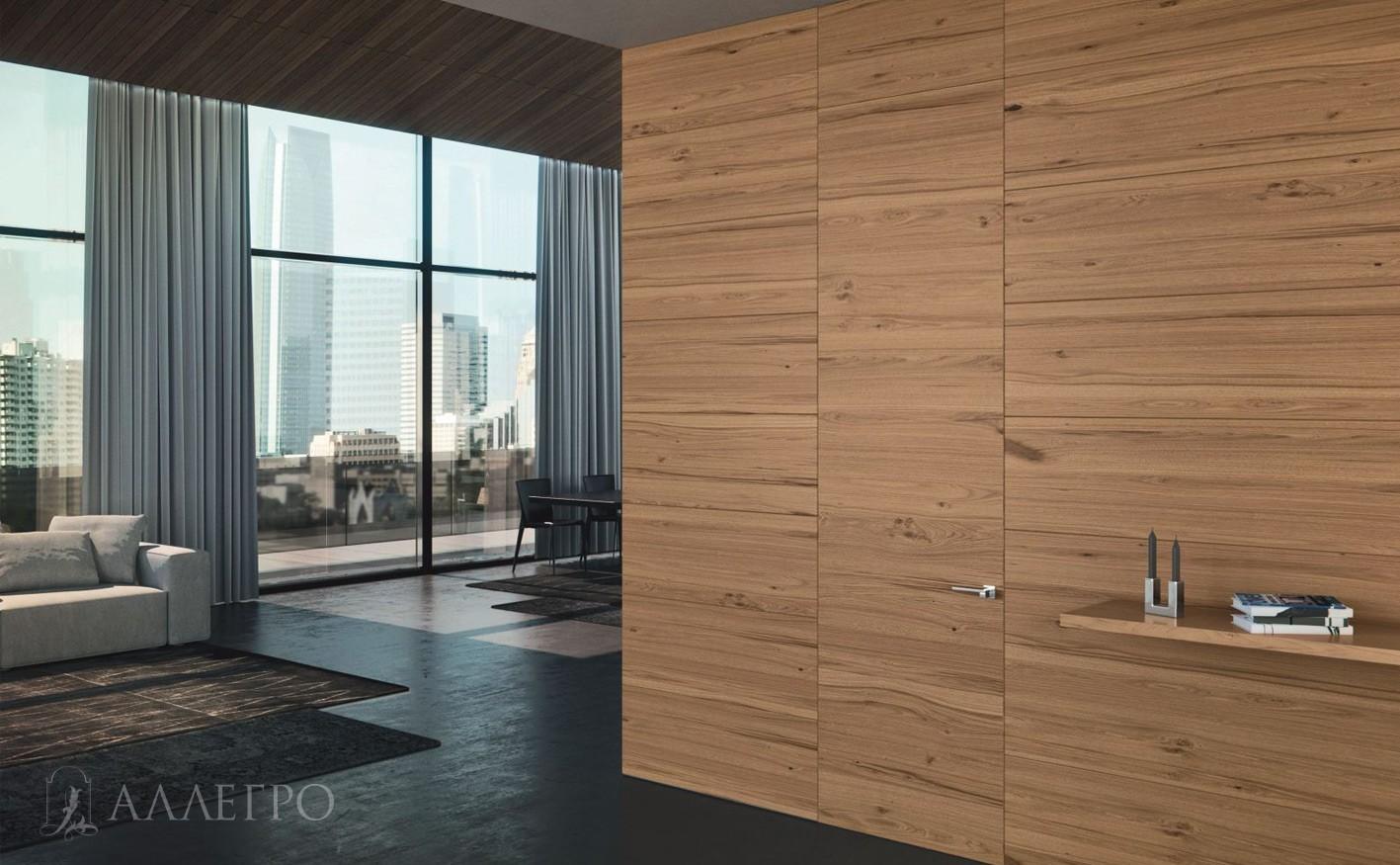 Шпонированные двери - стильное решение для интерьера